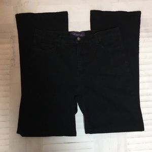 Not your daughter's black high waisted jeans sz 8